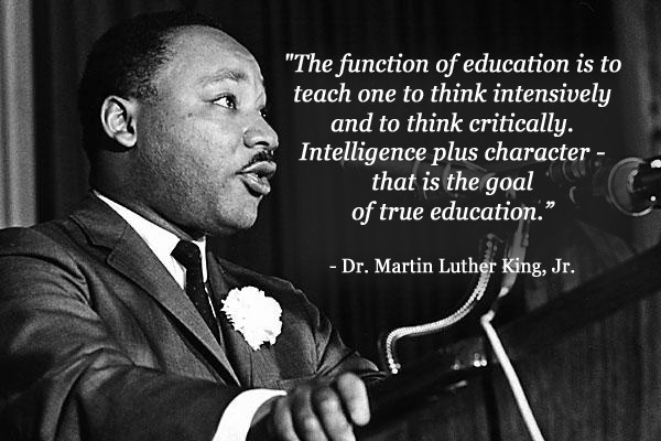 Mlk Quotes On Education  37 best MLK plus images on Pinterest