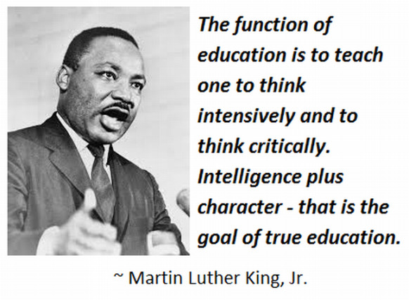 Mlk Quotes On Education  Do well in school kids education books for kids