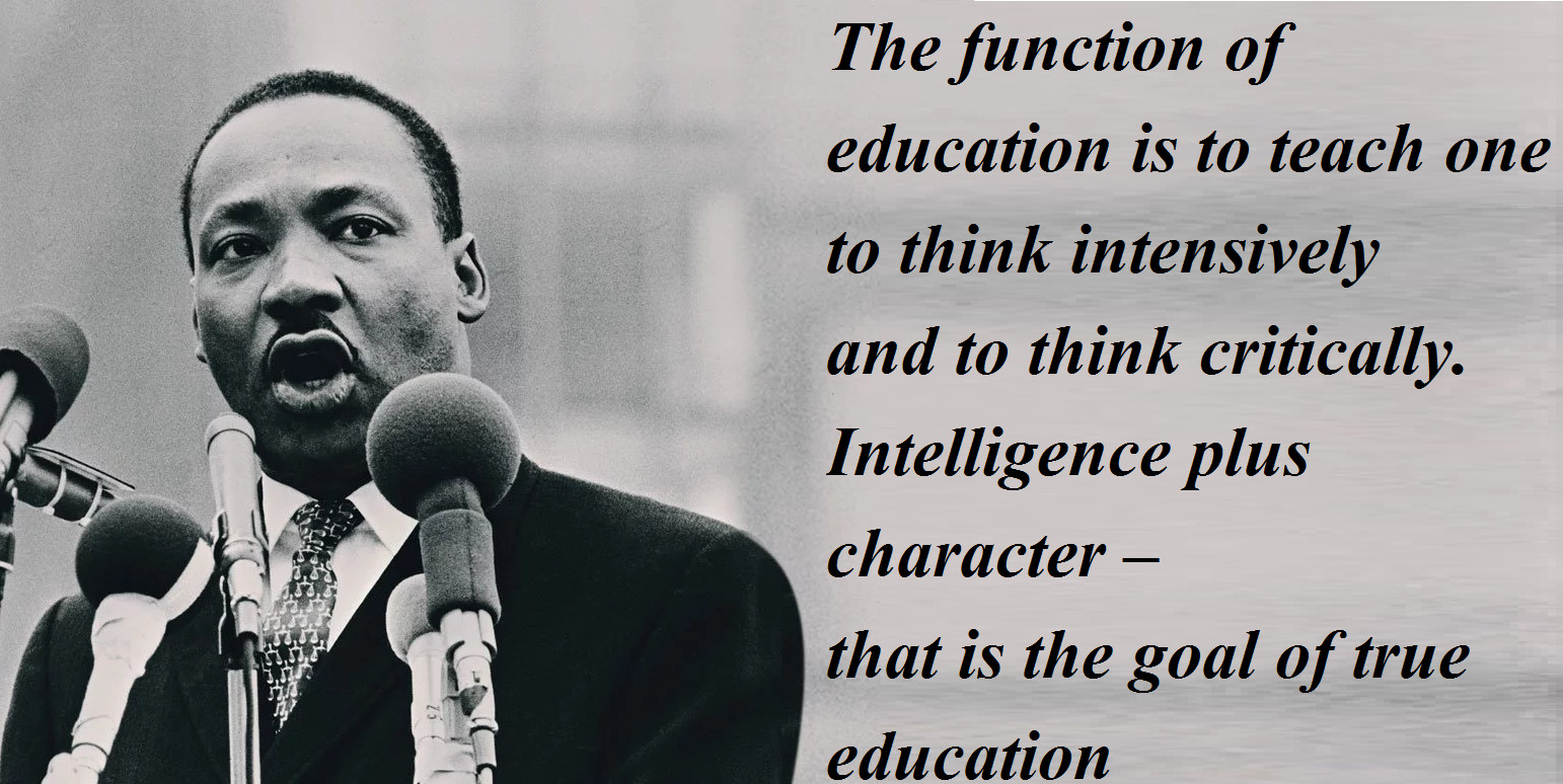 Mlk Quotes On Education  Martin Luther King Jr History Quotes Wishes