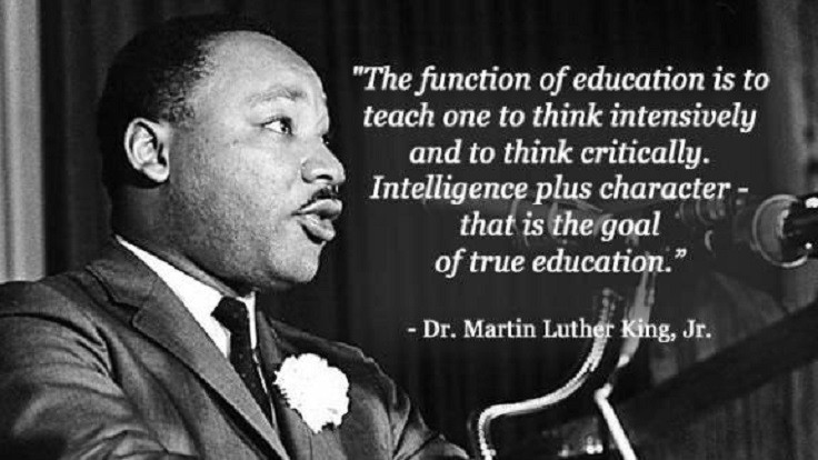 Mlk Quotes On Education  Top 10 Best Martin Luther King Jr s Quotes Top Inspired