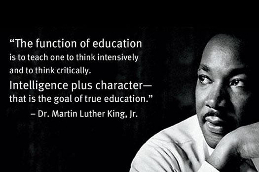 Mlk Quotes On Education  Absurdities of the 5th Decade