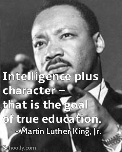 Mlk Quotes On Education  Character quotes The o jays and Martin luther on Pinterest