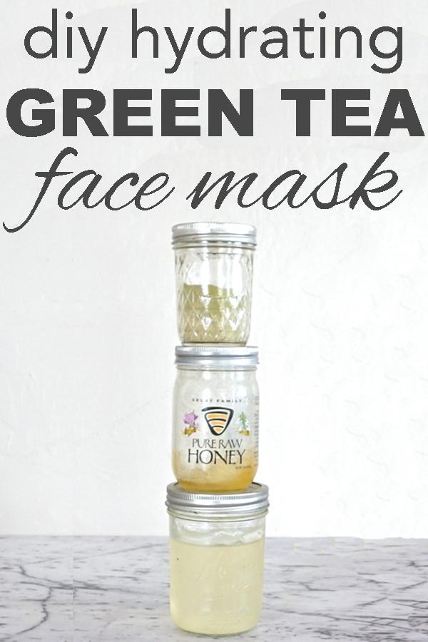 Moisturizing Face Mask DIY  DIY Hydrating Green Tea Face Mask Going Zero Waste