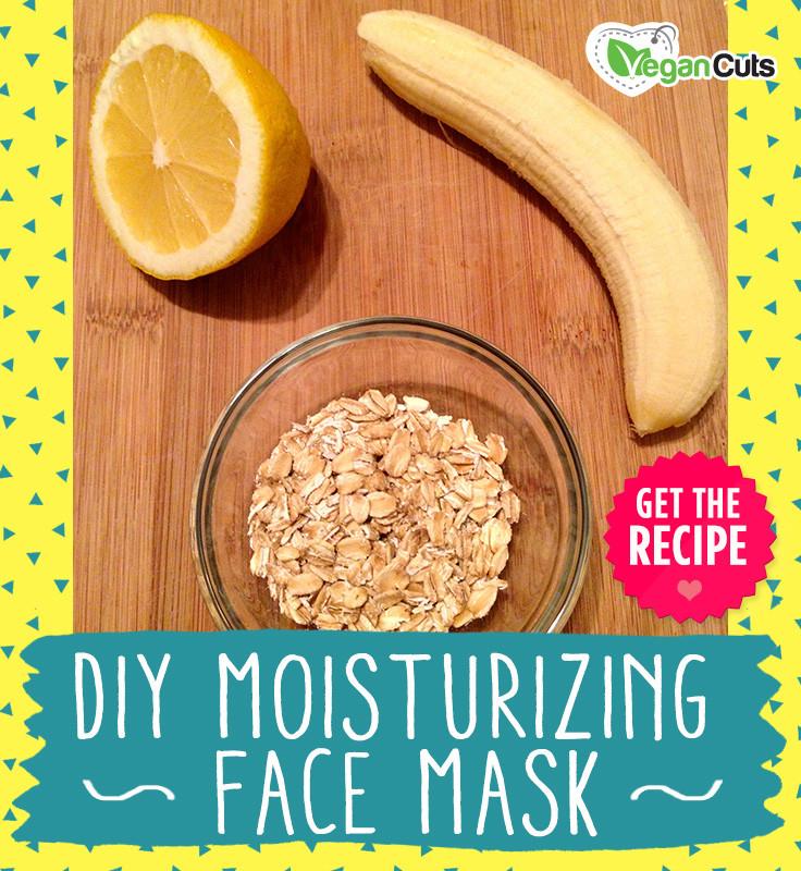 Moisturizing Face Mask DIY  DIY Moisturizing Face Mask Vegan Cuts