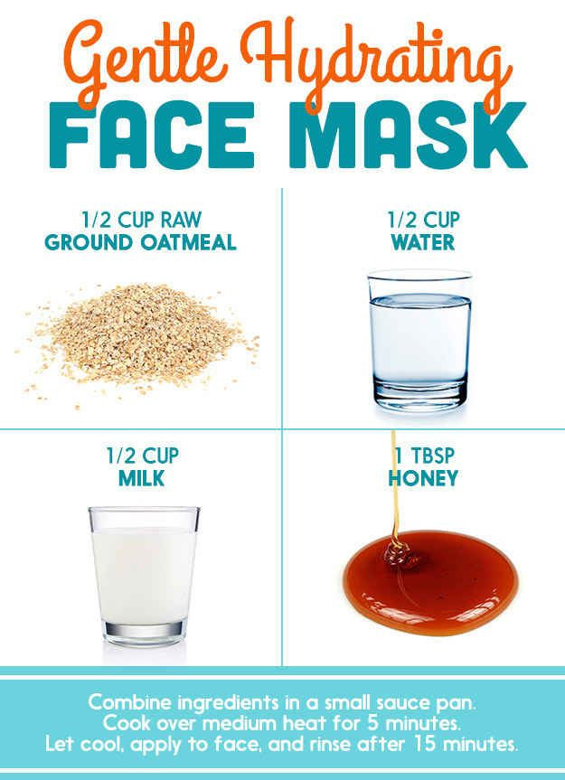 Moisturizing Face Mask DIY  Here's What Dermatologists Said About Those DIY Pinterest