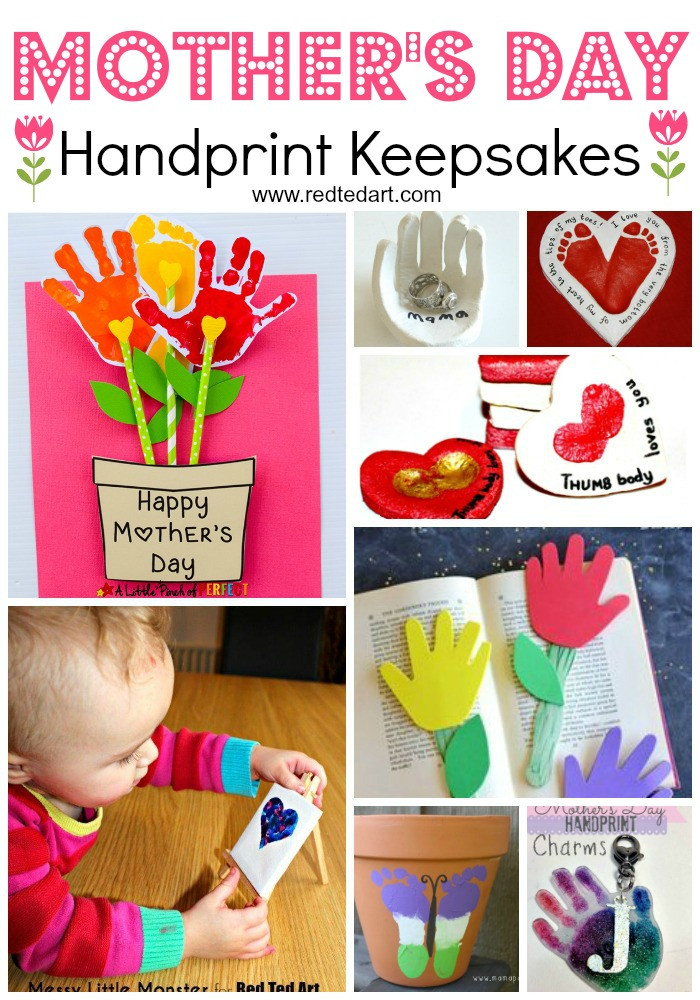Mother Day Craft Ideas For Preschoolers  Easy Mother s Day Crafts for Kids to Make Red Ted Art
