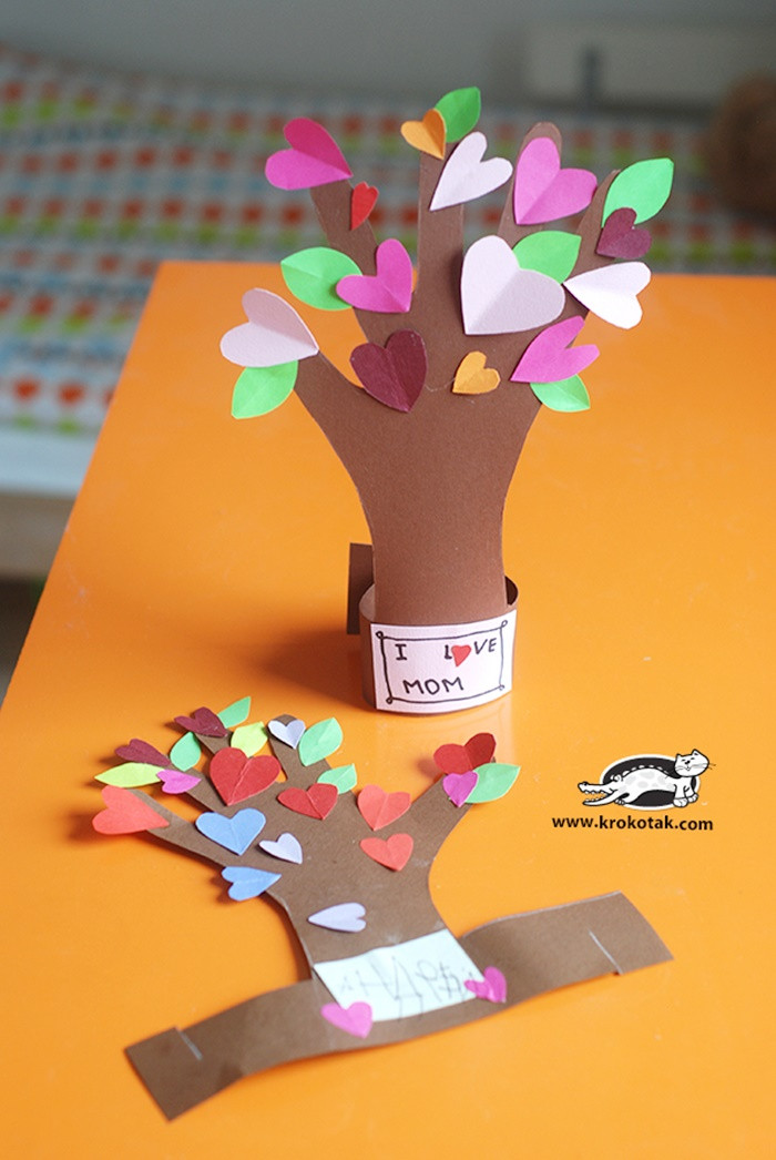 Mother Day Craft Ideas For Preschoolers  13 Creative and Sweet Kindergarten Mother s Day Crafts