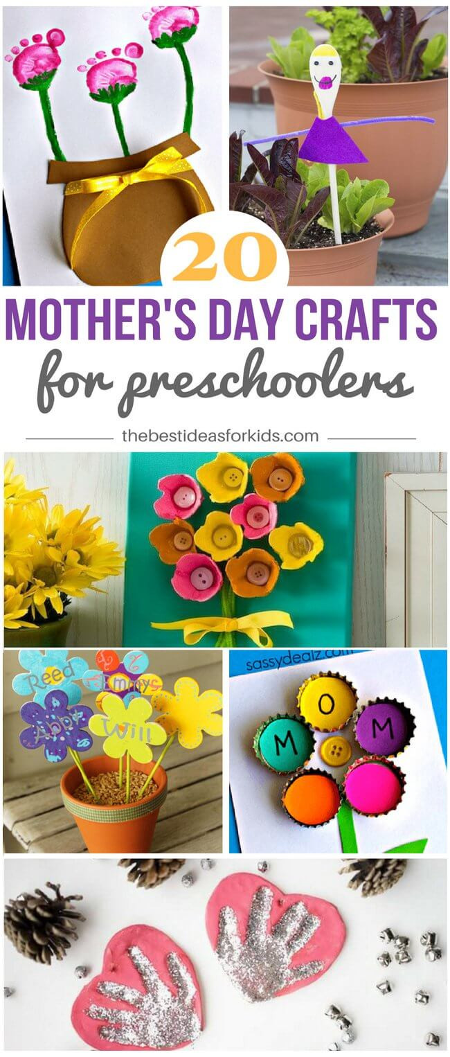 Mother Day Craft Ideas For Preschoolers  20 Mother s Day Crafts for Preschoolers The Best Ideas