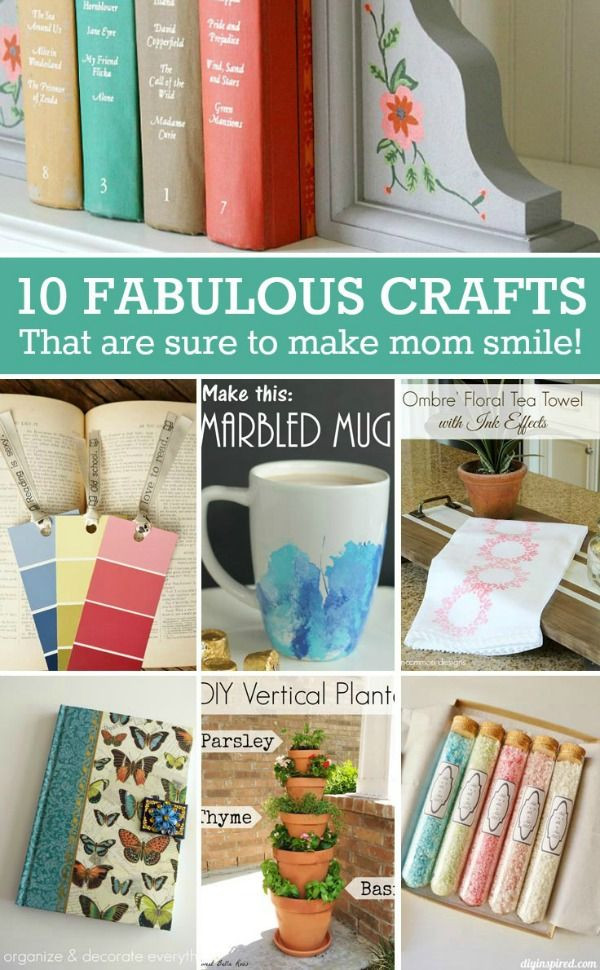 Mother'S Day Gift Ideas DIY  Mothers Day DIY Gift Ideas Fun and useful ts that are