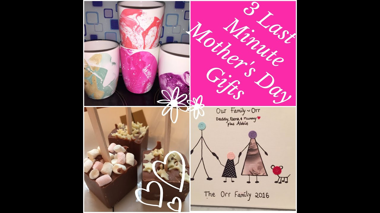 Mother'S Day Gift Ideas DIY  Last Minute Mother s Day Gift Ideas