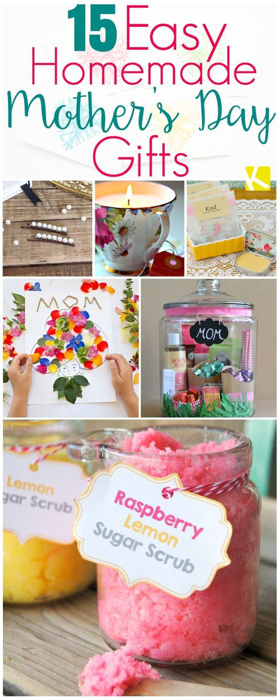 Mother'S Day Gift Ideas DIY  15 Mother's Day Gifts That Are Ridiculously Easy to Make