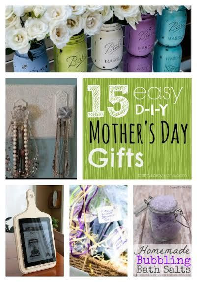 Mother'S Day Gift Ideas DIY  15 Easy DIY Mothers Day Gifts