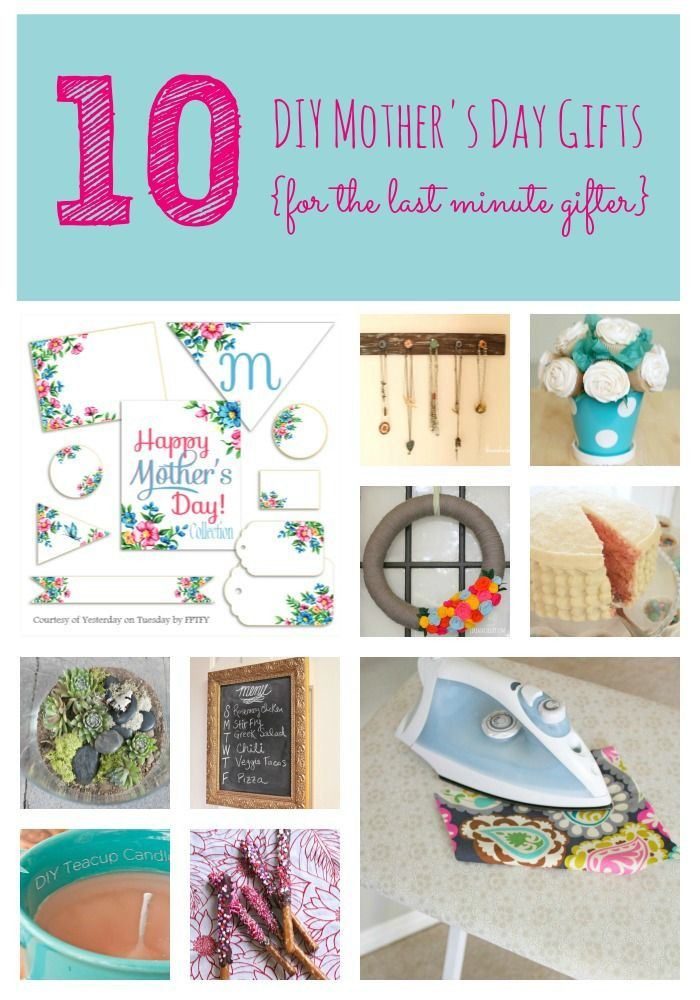 Mother'S Day Gift Ideas DIY  10 DIY Mother s Day ts for the last minute ter