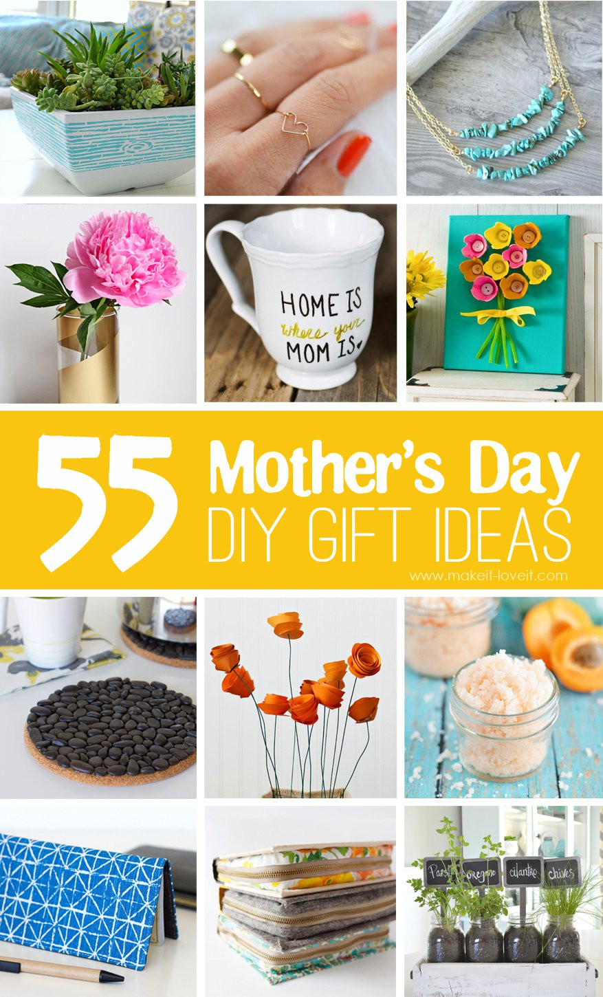 Mother'S Day Gift Ideas DIY  40 Homemade Mother s Day Gift Ideas