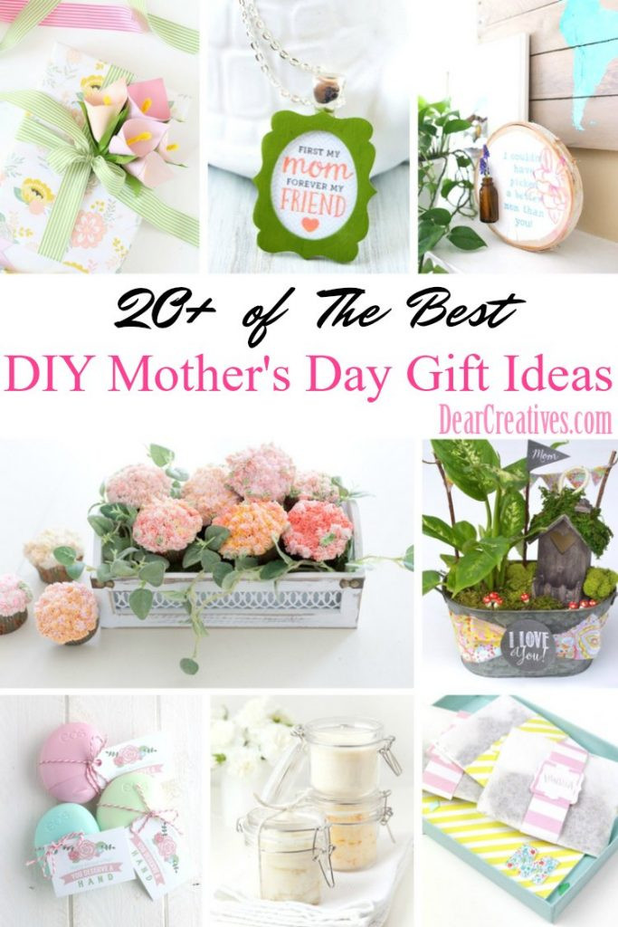 Mother'S Day Gift Ideas DIY  DIY Mother s Day Gifts