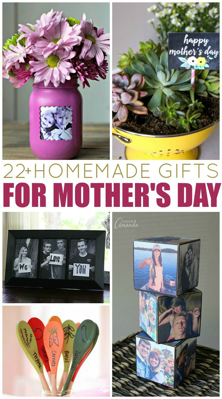 Mother'S Day Gift Ideas DIY  20 Homemade Gift Ideas for Mother s Day My Mom Made That