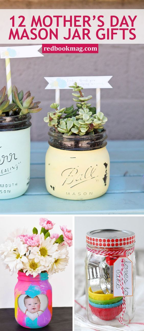 Mother'S Day Gift Ideas DIY  34 Mother s Day Gifts That Belong In a Mason Jar