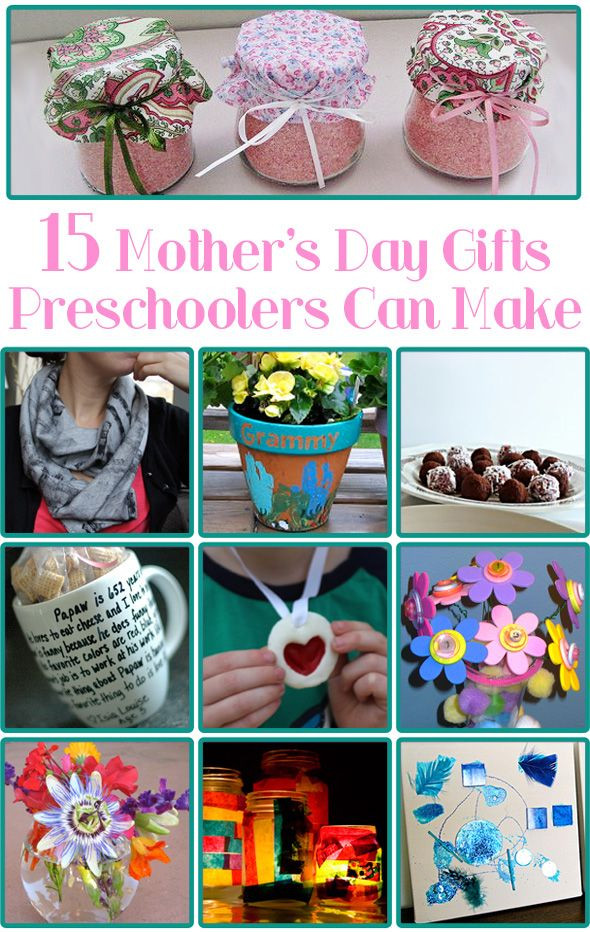 Mother'S Day Gift Ideas From Kids  15 Mother s Day Gifts Preschoolers Can Make