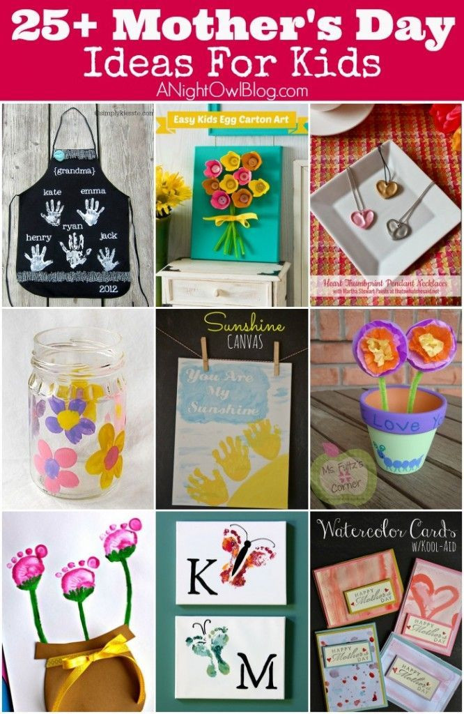 Mother'S Day Gift Ideas From Kids  17 Best images about Mother s Day Craft Ideas for Kids on