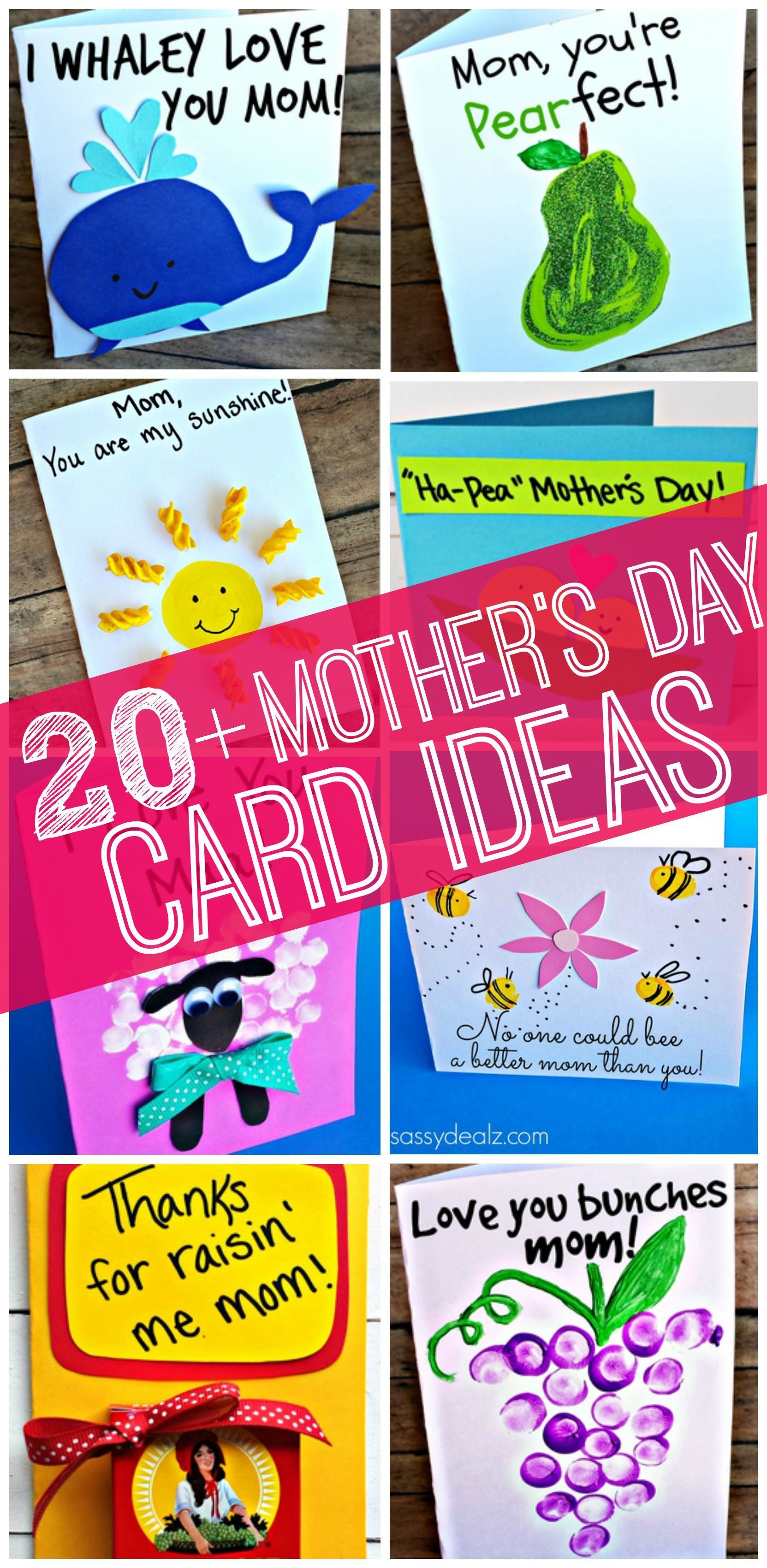 Mother'S Day Gift Ideas From Kids  Easy Mother s Day Cards & Crafts for Kids to Make