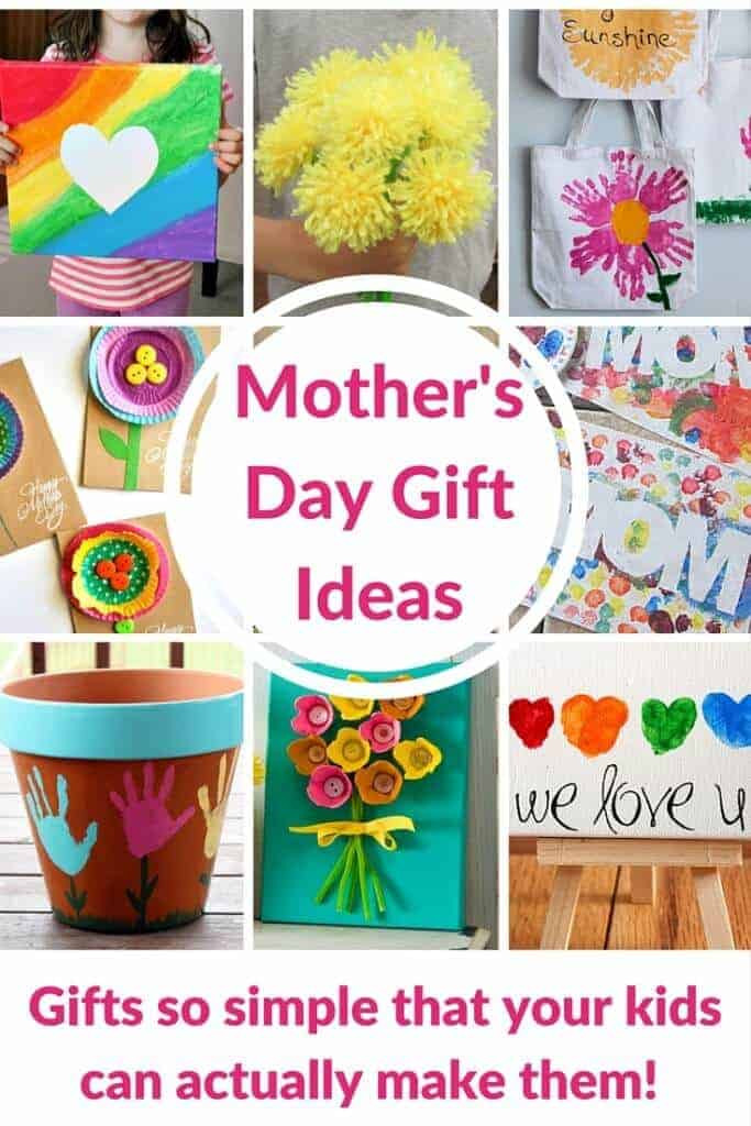 Mother'S Day Gift Ideas From Kids  Cute Handprint and Footprint Crafts Princess Pinky Girl