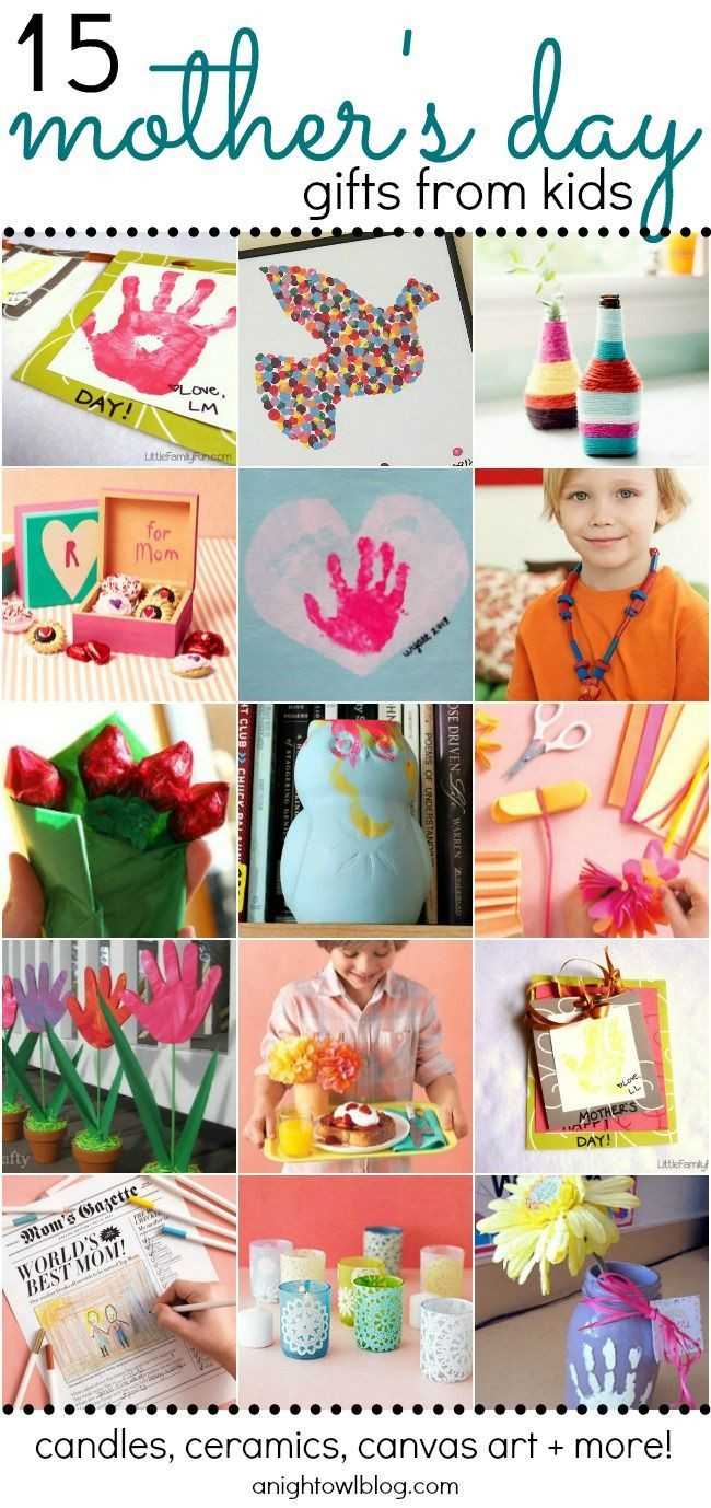 Mother'S Day Gift Ideas From Kids  15 Adorable Mother's Day Gift Ideas from Kids
