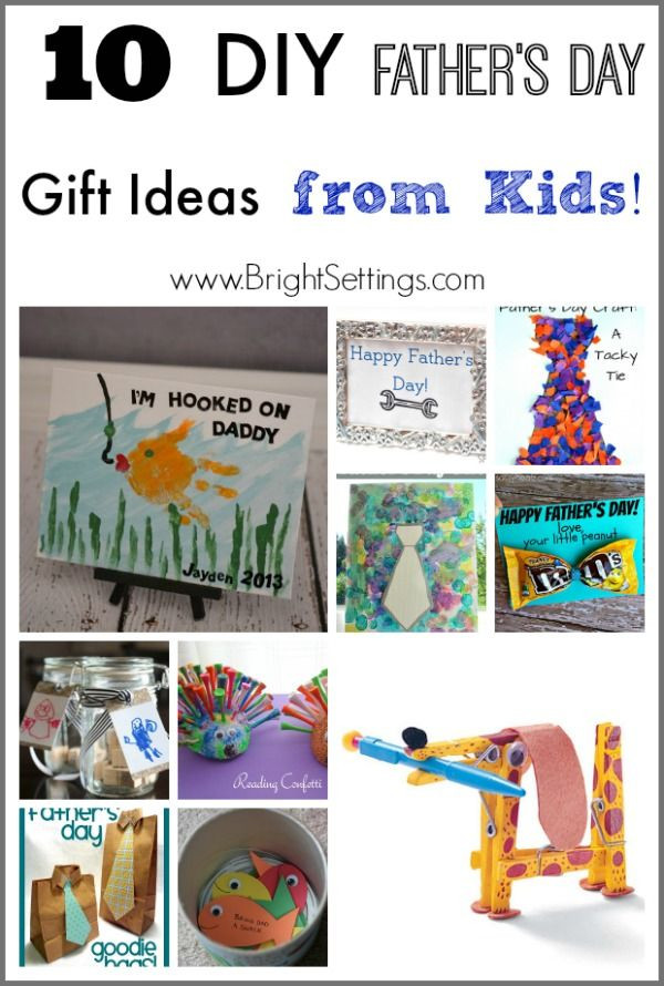 Mother'S Day Gift Ideas From Kids  10 DIY Father s Day Gift Ideas from Kids — keep the kids