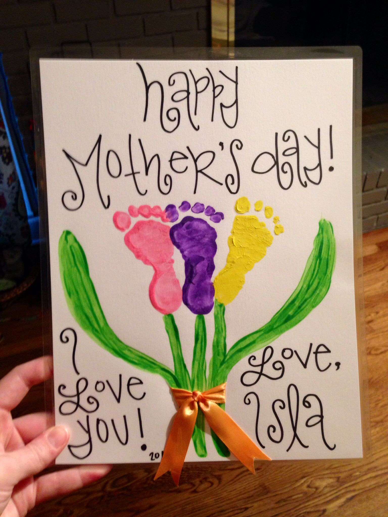 Mother'S Day Gift Ideas From Toddlers  Infant Mother s Day craft Little es