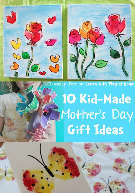 Mother'S Day Gift Ideas From Toddlers  Learn with Play at Home 10 Kid Made Mother s Day Gift Ideas