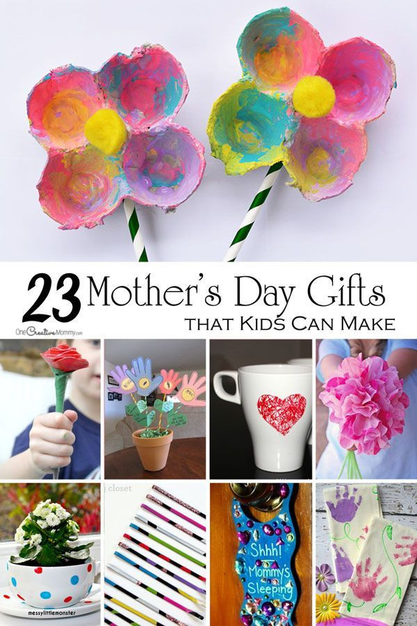 Mother'S Day Gift Ideas From Toddlers  Mother s Day Crafts for Kids