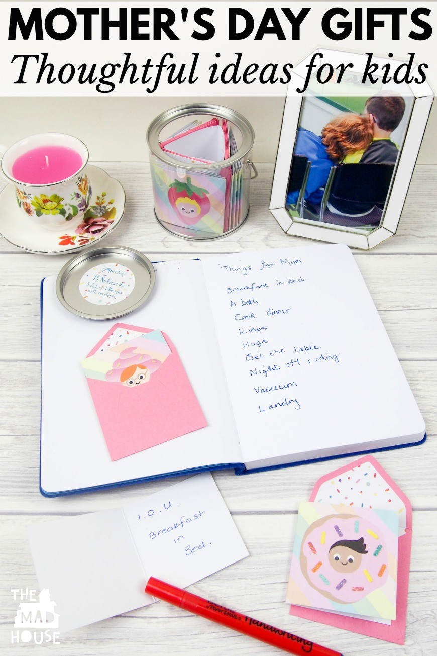 Mother'S Day Gift Ideas From Toddlers  Mother s Day t ideas from kids Mum In The Madhouse