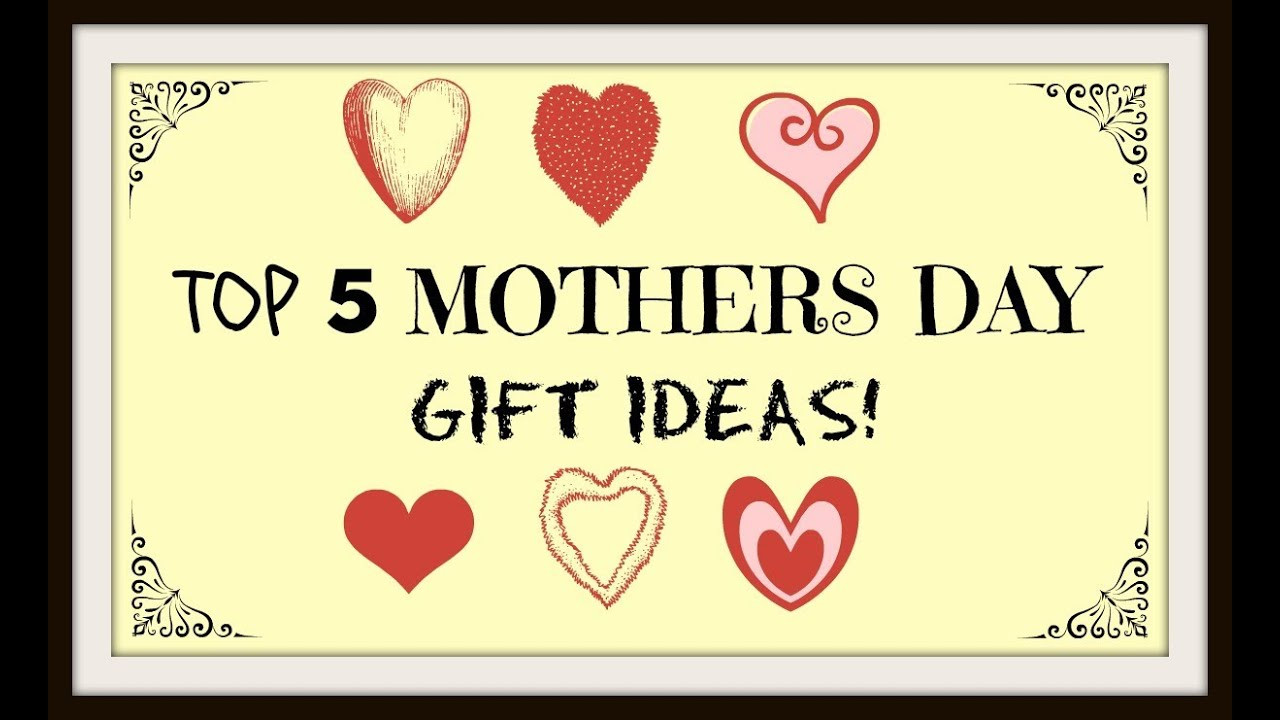 Mother'S Day Jewelry Gift Ideas  Top 5 Mothers Day Gift Ideas