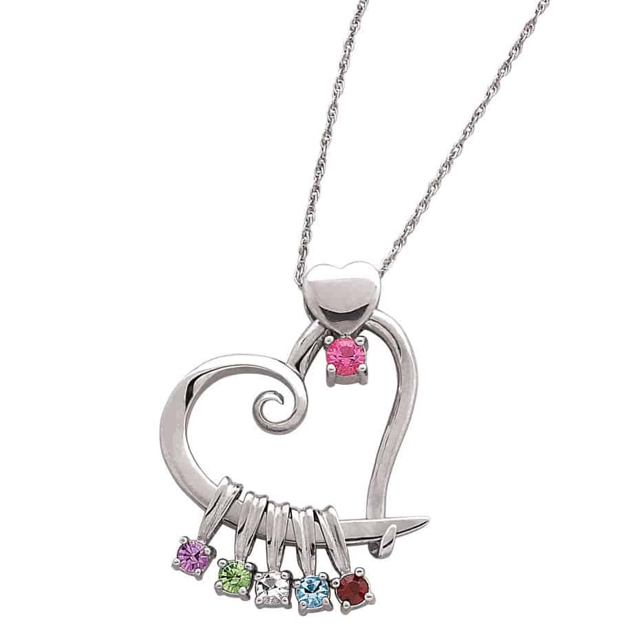 Mother'S Day Jewelry Gift Ideas  Mother s Day Necklaces 2018 Best 15 Personalized Necklaces