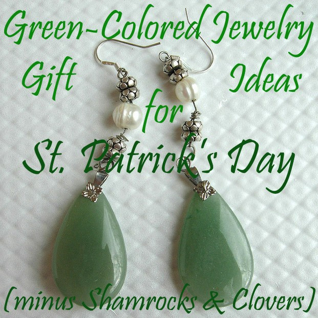 Mother'S Day Jewelry Gift Ideas  Green Colored Jewelry Gift Ideas For St Patrick s Day