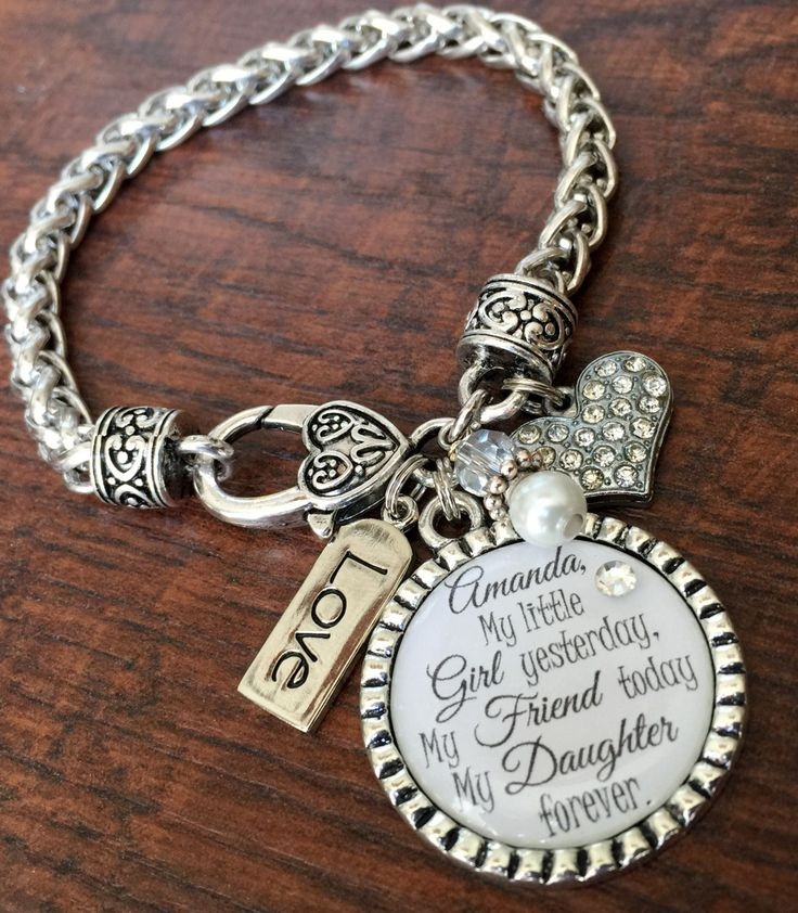 Mother'S Day Jewelry Gift Ideas  I ll love you forever Mother daughter bracelet mother