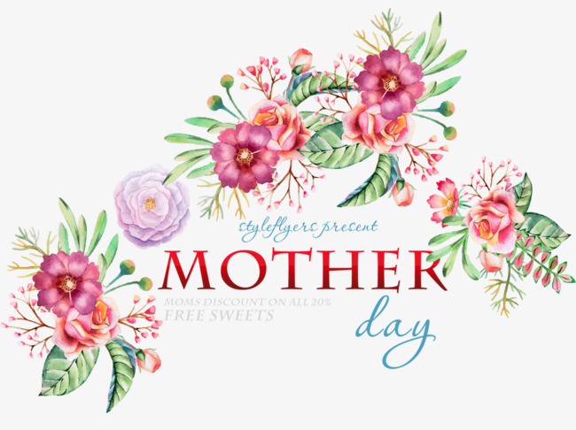 Mother'S Day Quotes  European style Mother s Day Holiday Elements European