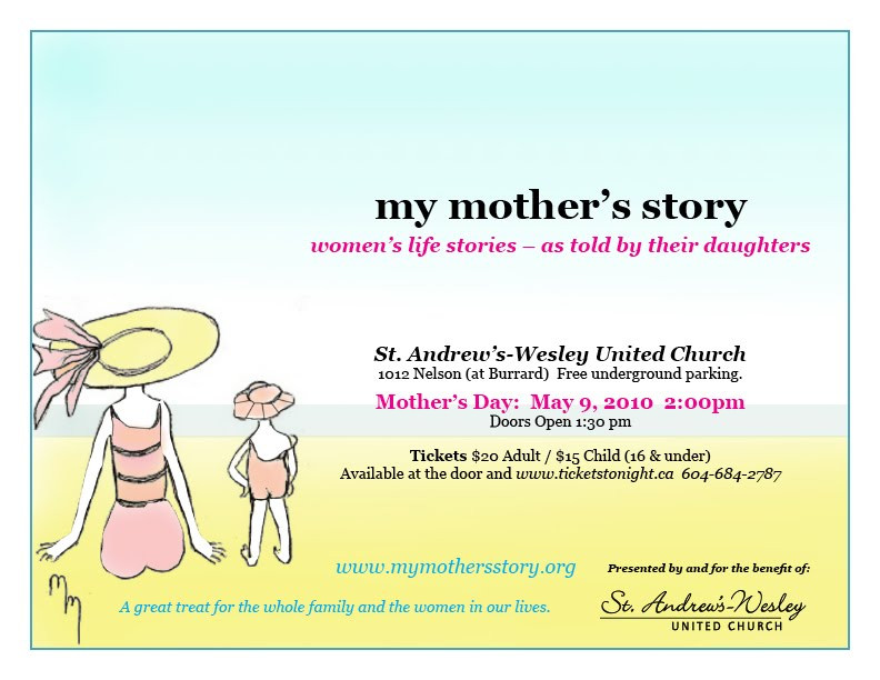 Mother'S Day Quotes  My Mother s Story 5th Annual Mother s Day Show