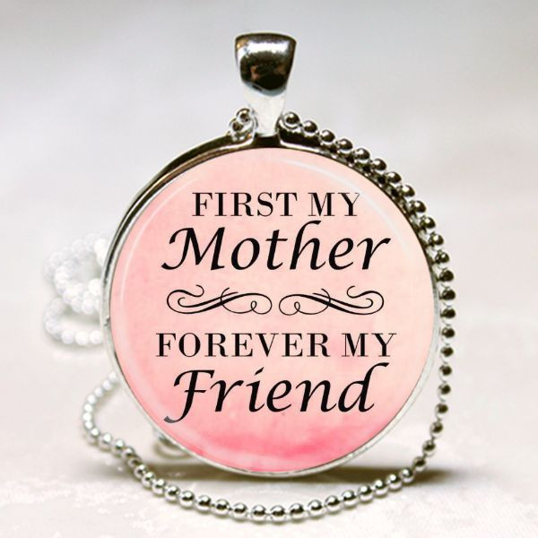 Mother'S Day Quotes  MOTHER QUOTE NECKLACE MOM MOTHER S DAY GIFT PENDANT From