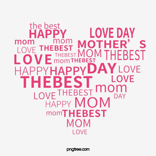 Mother'S Day Quotes  Mother s Day Mother s Day Heart Heart PNG and Vector