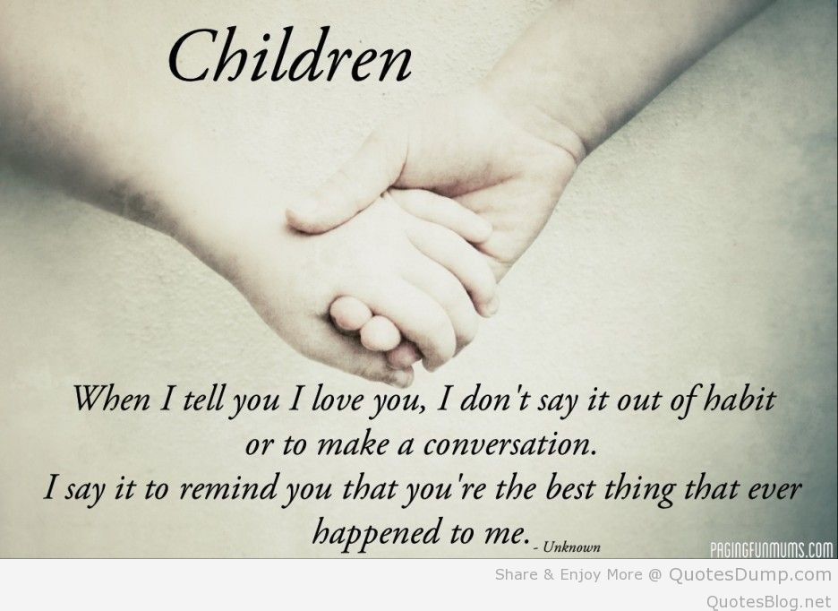 Mother'S Love For A Child Quotes  Amazing love quotes for my family