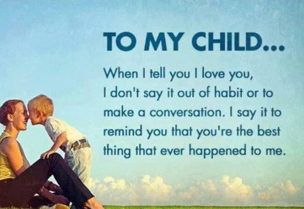 Mother'S Love For A Child Quotes  CHILDREN QUOTES image quotes at hippoquotes