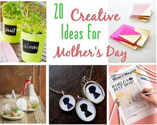 Mothers Day Unique Gift Ideas  20 Creative Ideas for Mother's Day Gifts