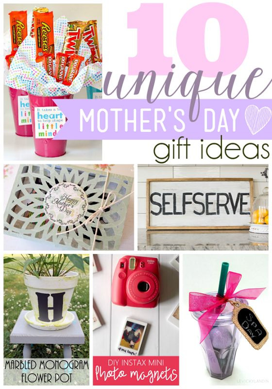 Mothers Day Unique Gift Ideas  17 Best ideas about Unique Mothers Day Gifts on Pinterest