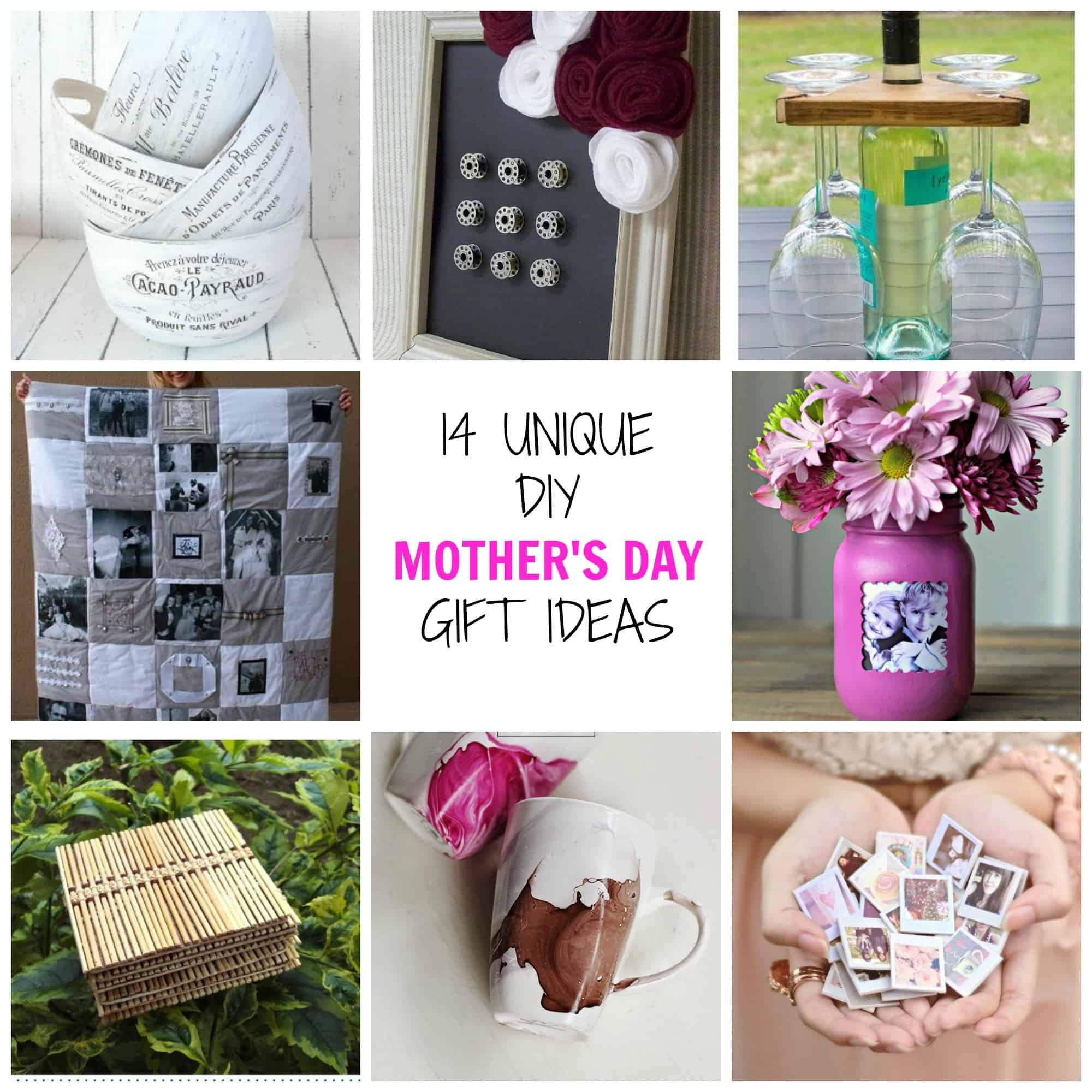 Mothers Day Unique Gift Ideas  14 Unique DIY Mother s Day Gifts Simplify Create Inspire