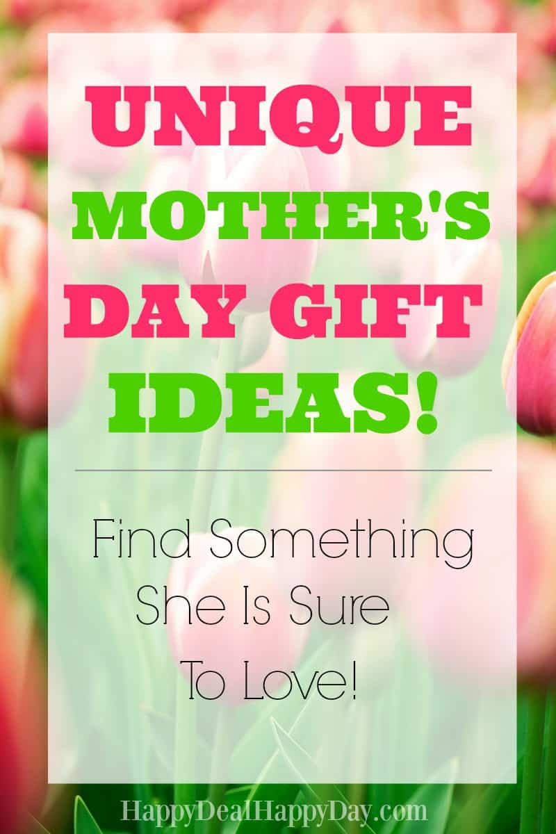 Mothers Day Unique Gift Ideas  Unique Mother s Day Gift Ideas