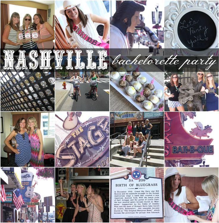Nashville Bachelorette Party Ideas  Nashville Bachelorette Party Wel e Bags Itinerary