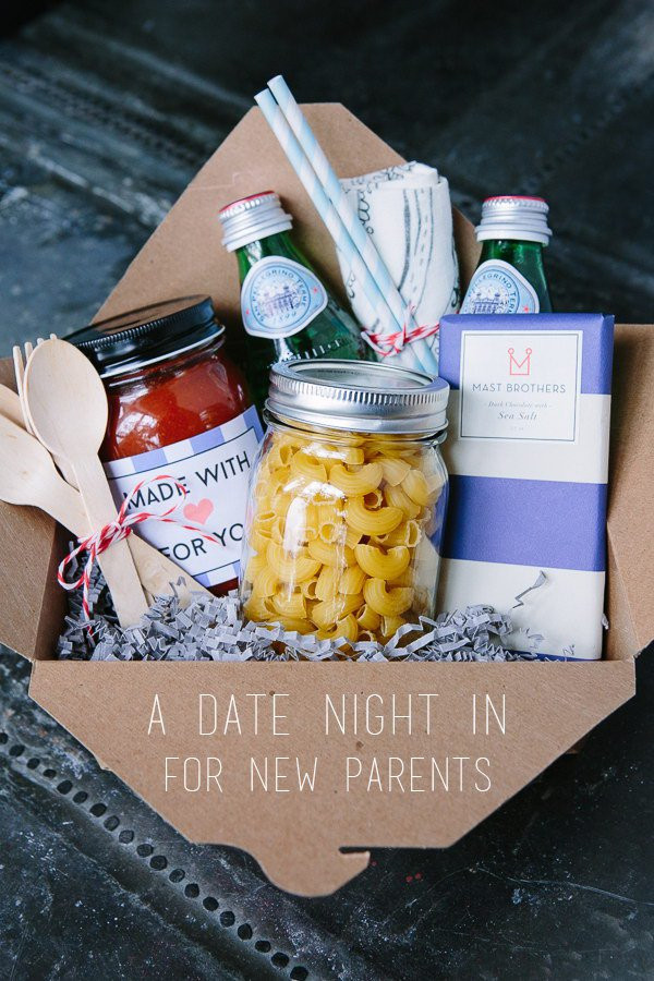 Newborn Baby Gift Ideas For Parents  DIY Gift Basket Ideas The Idea Room