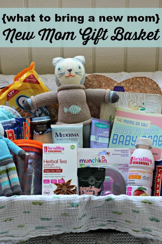 Newborn Baby Gift Ideas For Parents  what to bring a new mom New Mom Gift Basket Southern