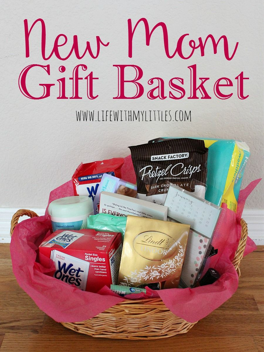 Newborn Baby Gift Ideas For Parents  New Mom Gift Basket January