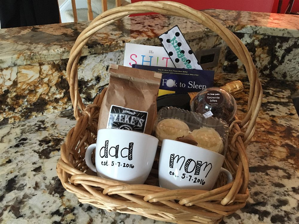 Newborn Baby Gift Ideas For Parents  New Baby Have a t basket